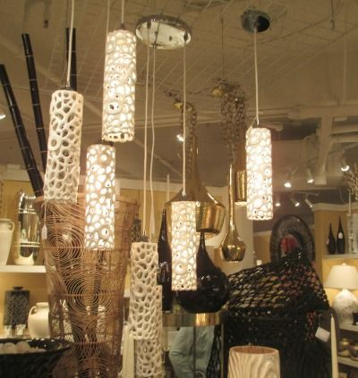 How Fun Are These Lights Cholla Trio Pendant Light Sources Cactus Craft Cactus Decor Lighting