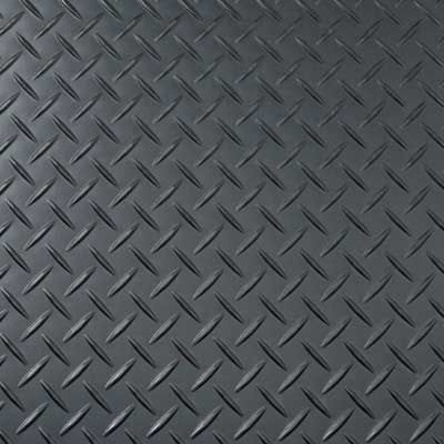 Tread Plate Gunmetal Flooring Vinyl Flooring Floor