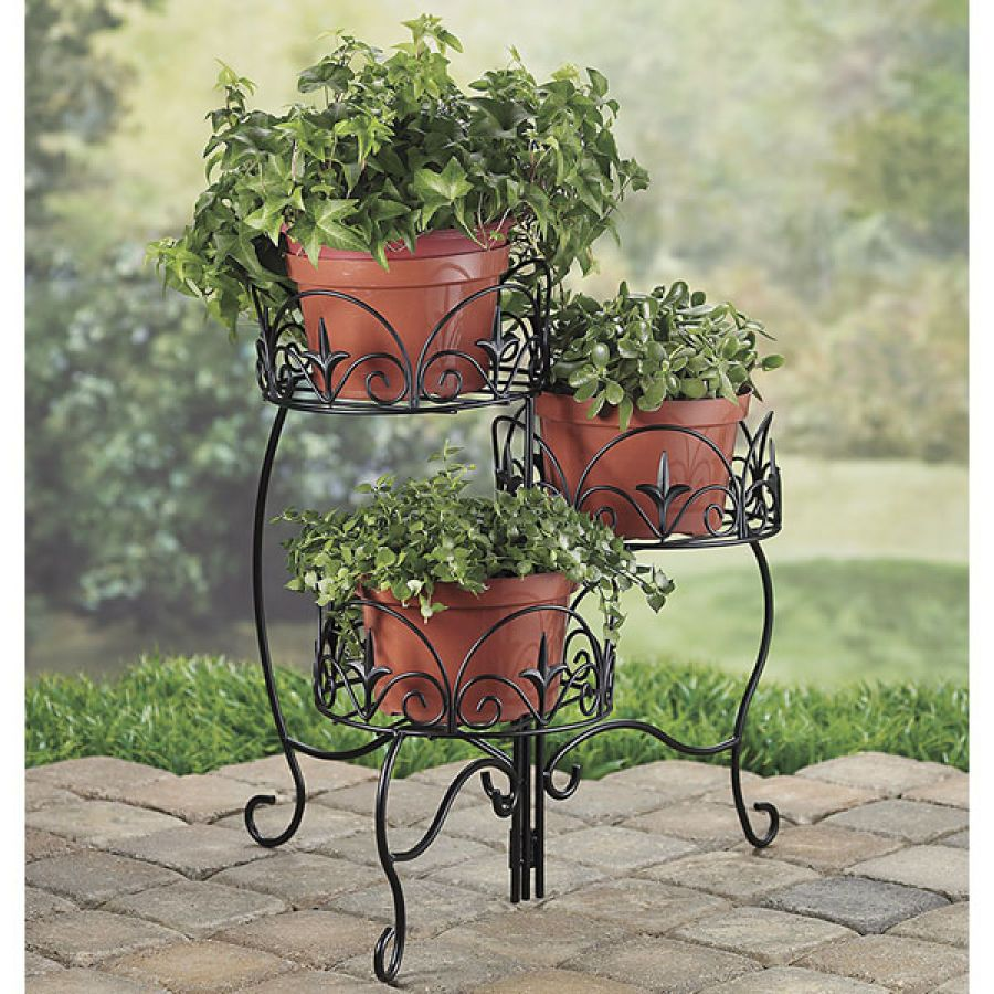 Three Tiered Plant Stand Pest Control Household Gadgets Outdoor Solutions Home And Garden Problem Wver Works