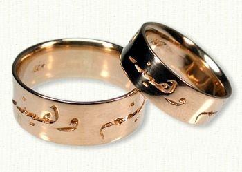 Arabic Wedding Bands Jasmine Arab Wedding Custom Wedding
