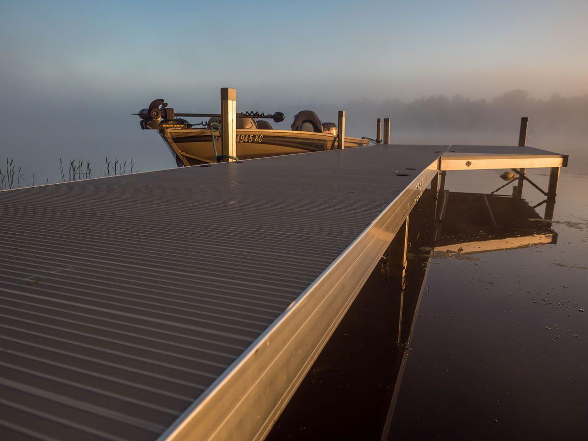 Customize Your Shoreline With Aluminum Stationery Docks Floating Boat Docks Floating Dock Dock