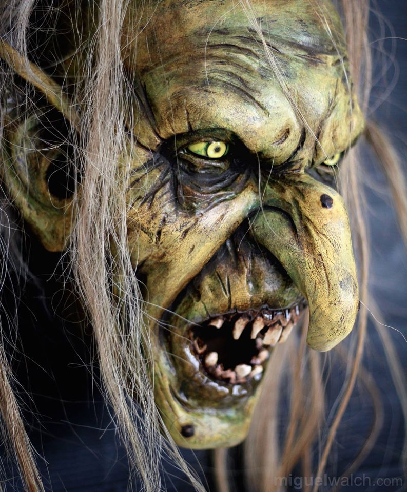 Mythe Grec Cyclope Monstre Masque-Halloween Tête Caoutchouc Robe Effrayant Fantaisie