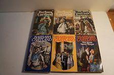 Lot of 6 Barbara Cartland Novels Lot 4