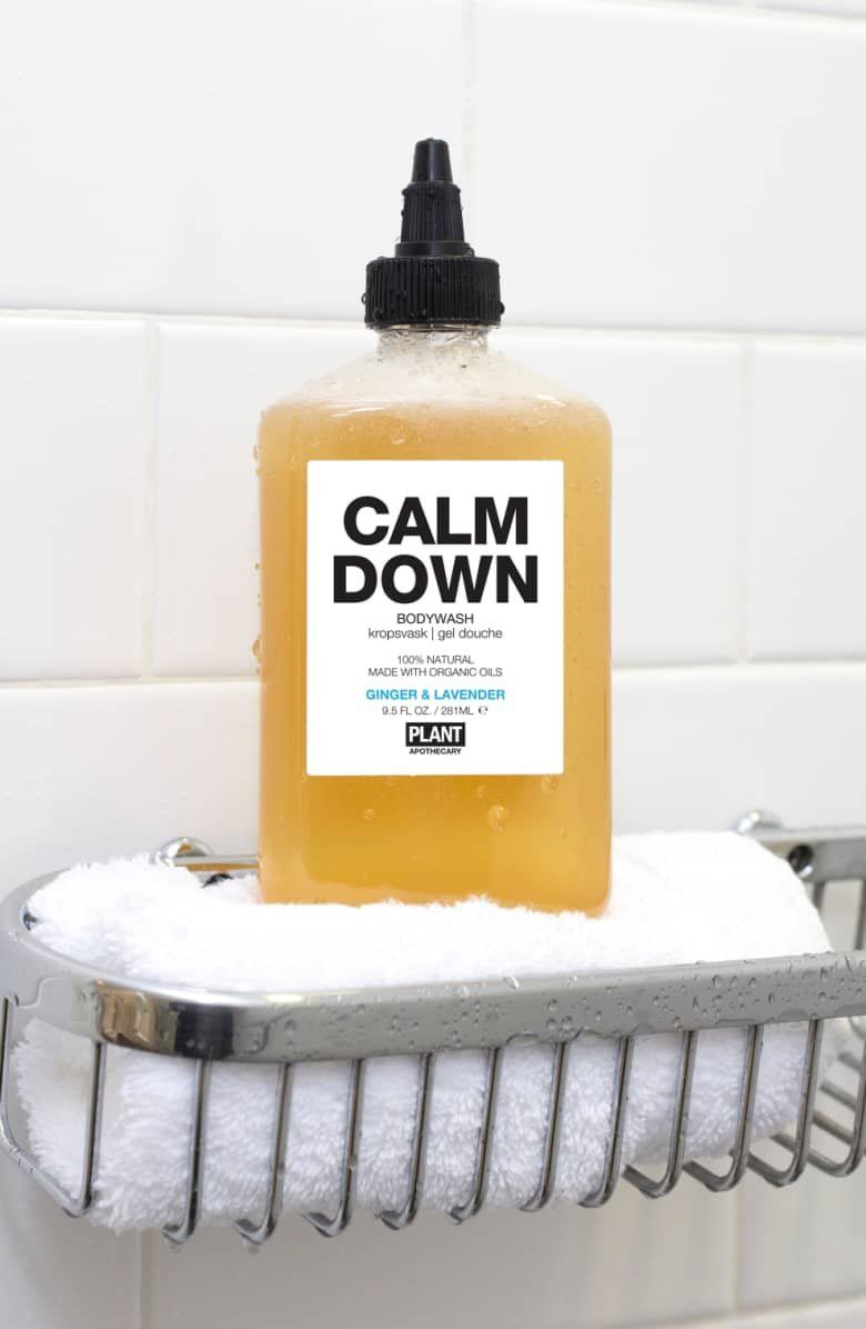 An Organic Body Wash Enriched With Essential Oils Of Ginger And Lavender For A Fragrant Relaxing Shower Or Bu Body Wash Organic Body Wash Best At Home Facial