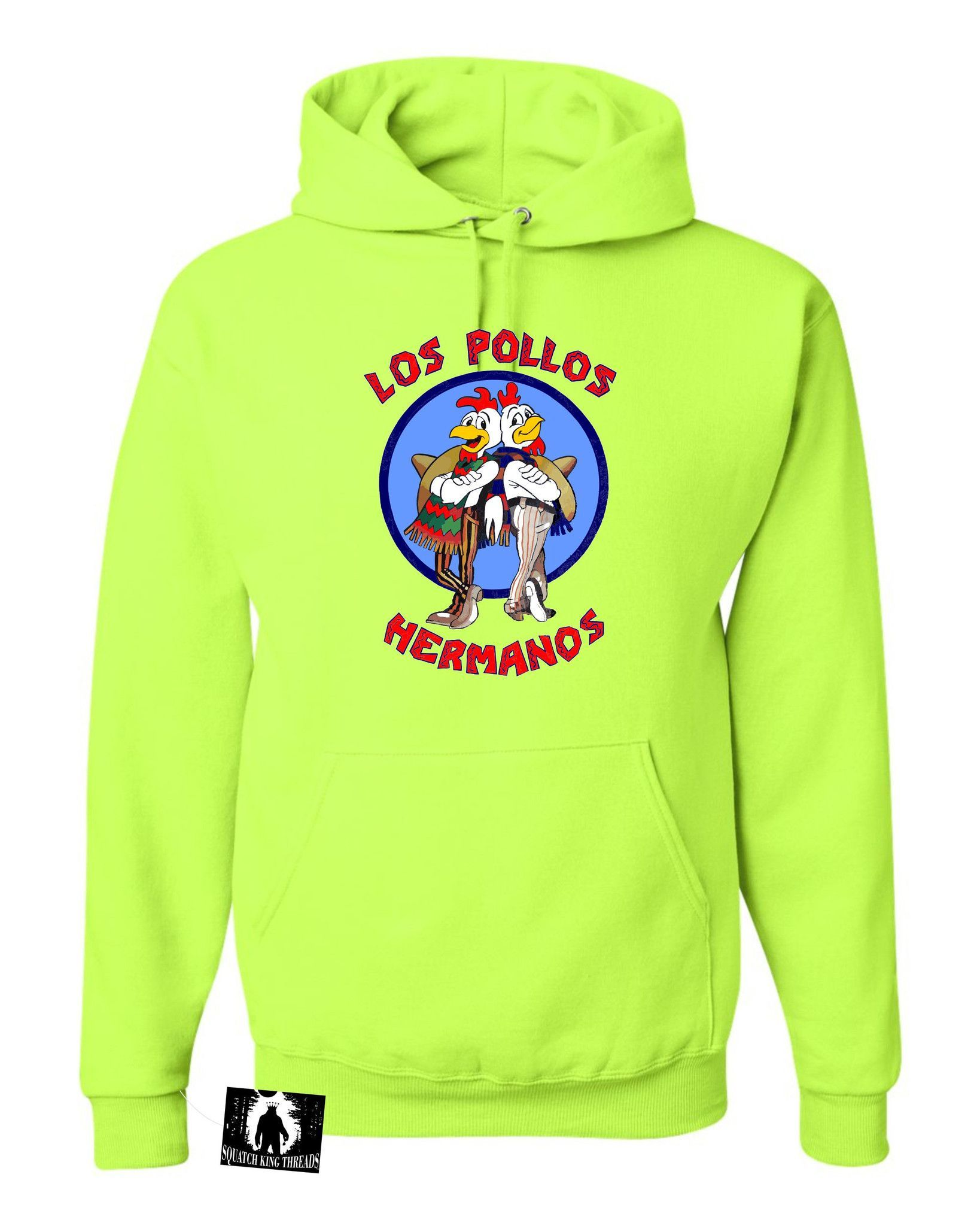Adult Los Pollos Hermanos Breaking Bad Inspired Hooded Sweatshirt Hoodie