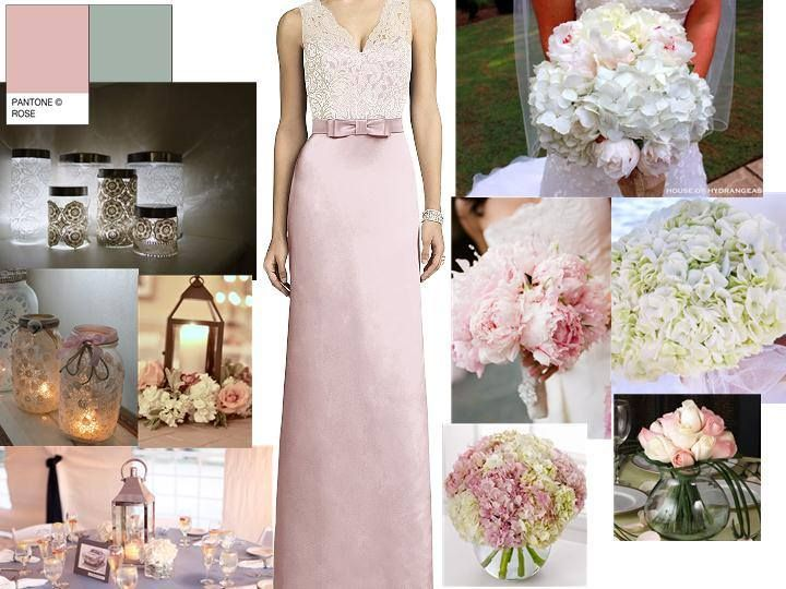 Some lovely inspiration from our favourite designer bridesmaids label 'The Dessy Group'- Available at Marrime Bridalwear.  New for Fall 2014 colour 'Blush' showing style '6675'. We think it just perfect for a Spring/ Summer wedding x