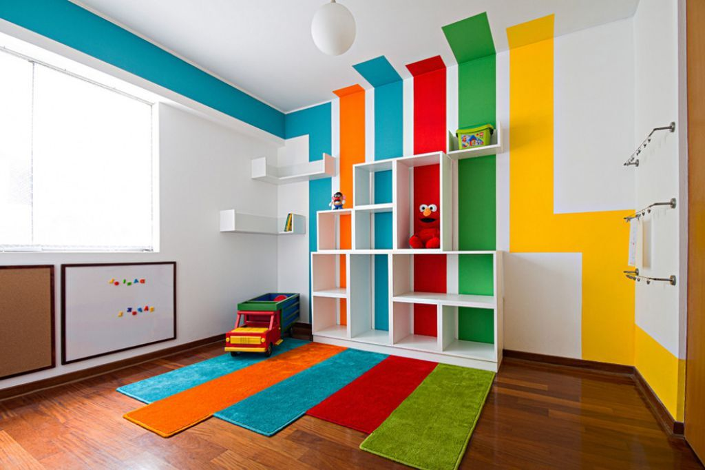 Color Effects Paint Kids Classroom Coolest Kid Playroom