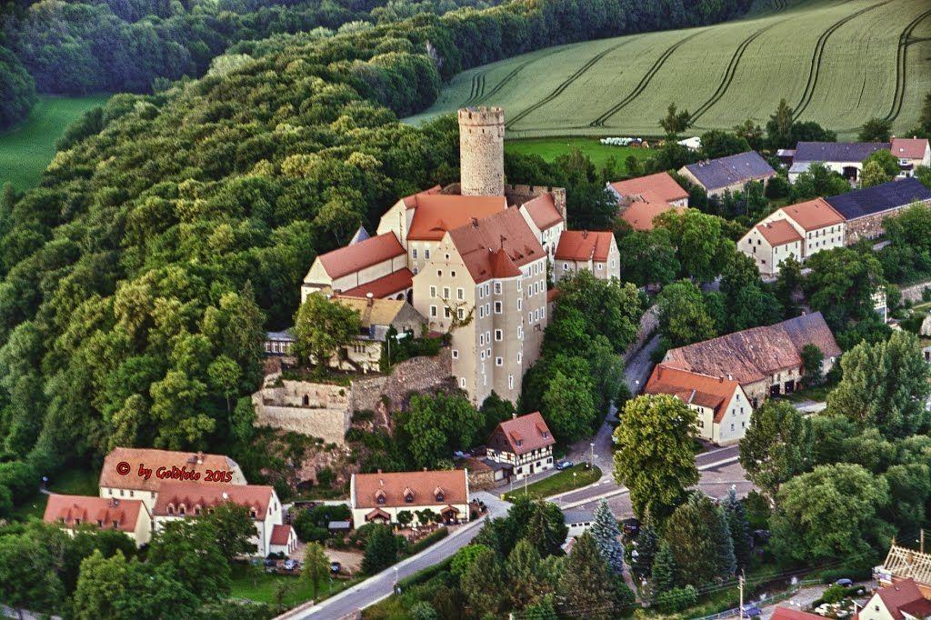 Burg Gnandstein Von Oben Burg Burg Gnandstein Burgen Und Schlosser