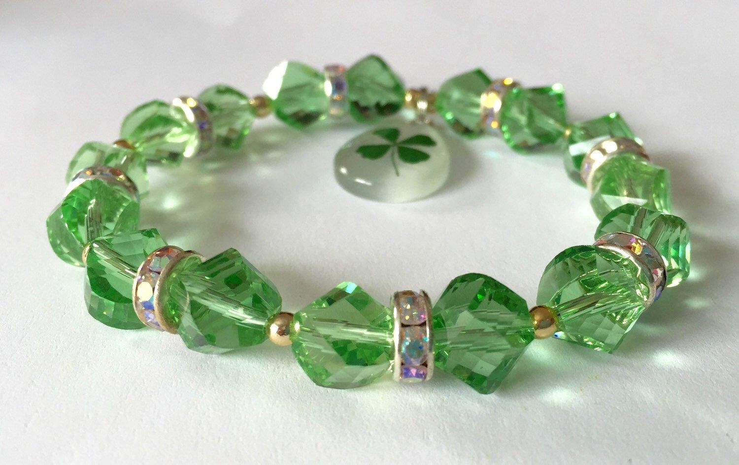 A personal favorite from my Etsy shop https://www.etsy.com/listing/270718663/ooak-ladies-st-patricks-day-lucky-4-leaf