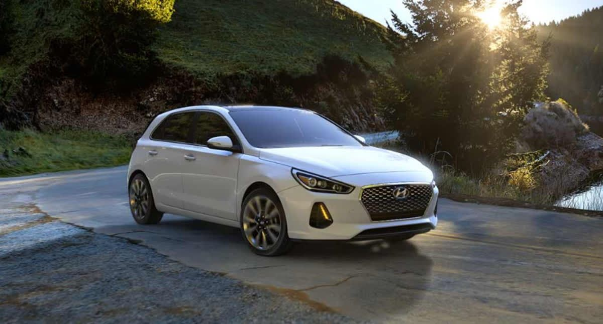 The new Elantra GT Sport from Hyundai has driver