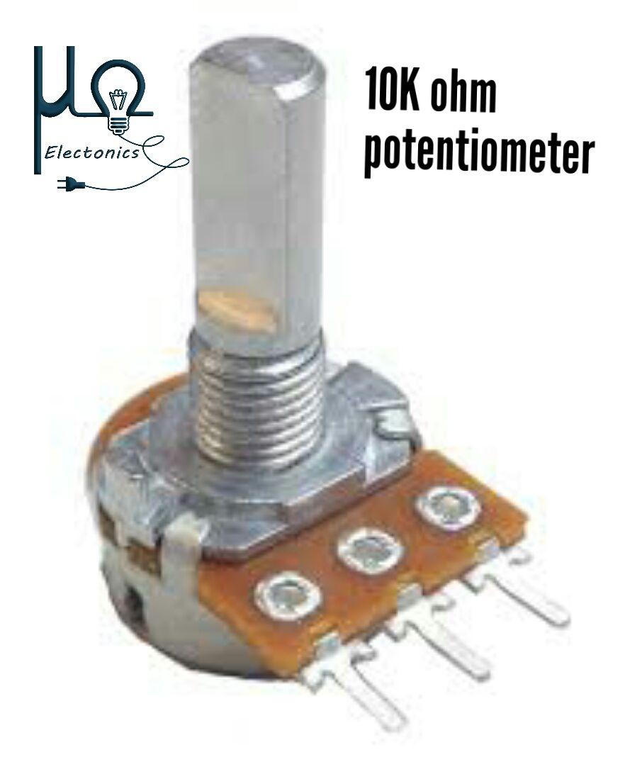 Potentiometer 10k Ohm Micro Ohm Electronics Ohms Resistors 10k