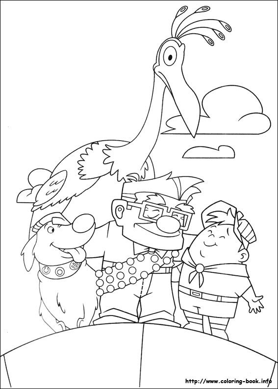 Up Coloring Pages Printable Free Online Sheets For Kids Get The Latest Images