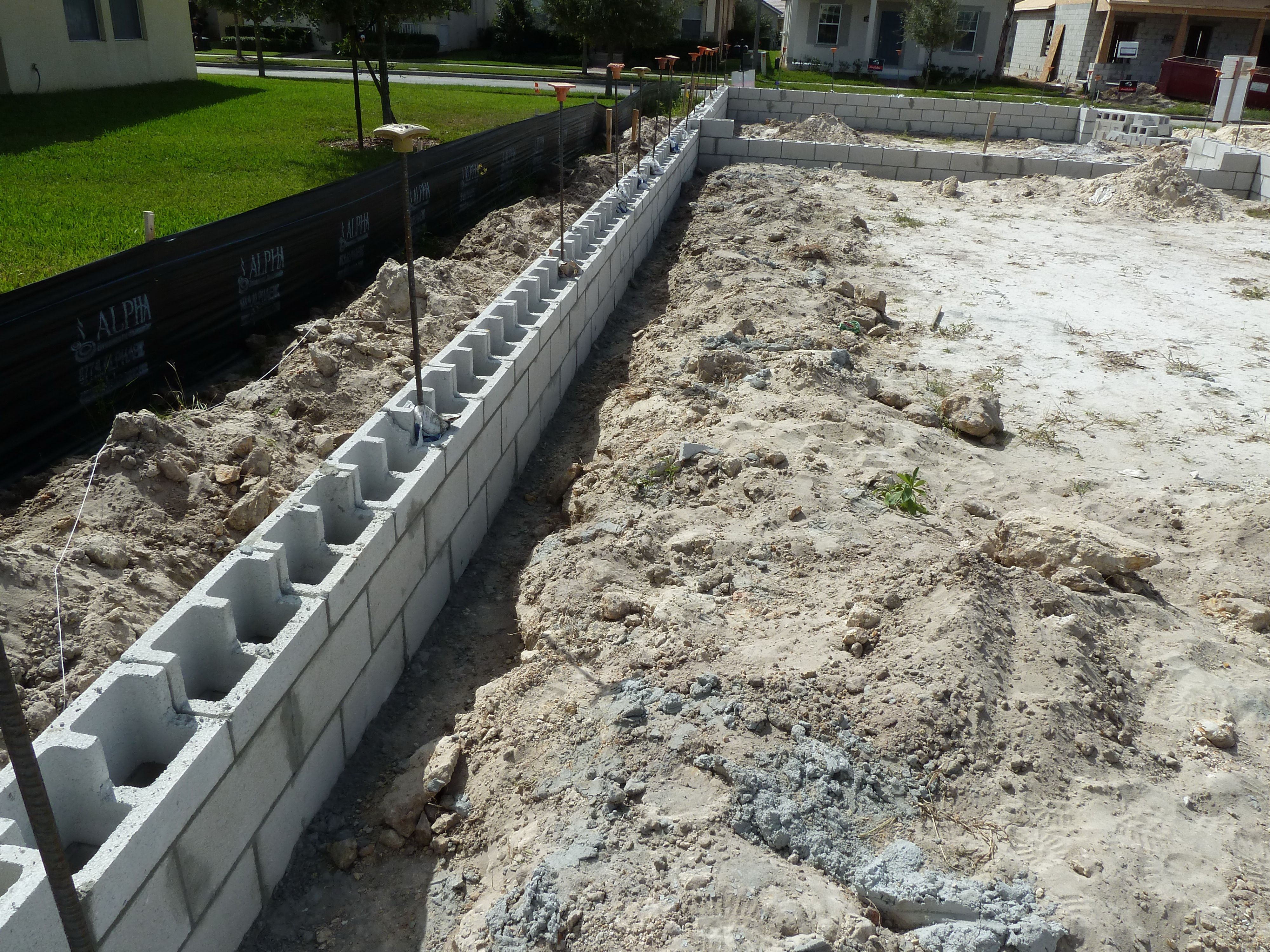 Wall Footing, Strip Footing Foundation, Foundation Dupes