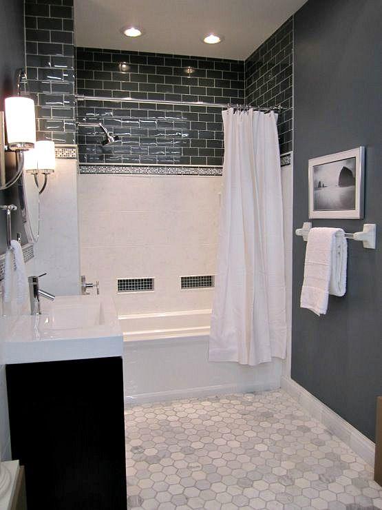 The 10 Best Dark Colours For A Dark Room Or Basement Bathroom Makeover Bathroom Inspiration Bathroom Remodel Master Small bathroom no window design