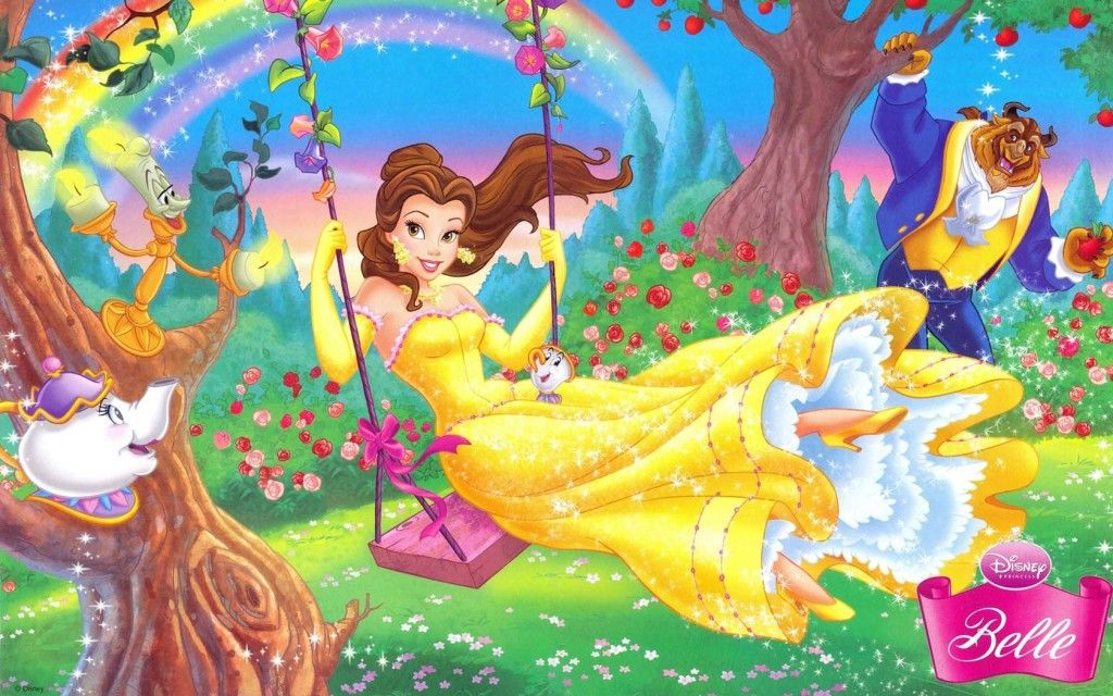 Princess Belle Wallpapers Download Hd Free Fairytale And