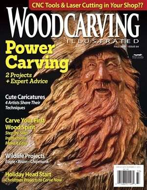 Woodcarving Illustrated Issue 64 Fall 2013 | Wood Carving +