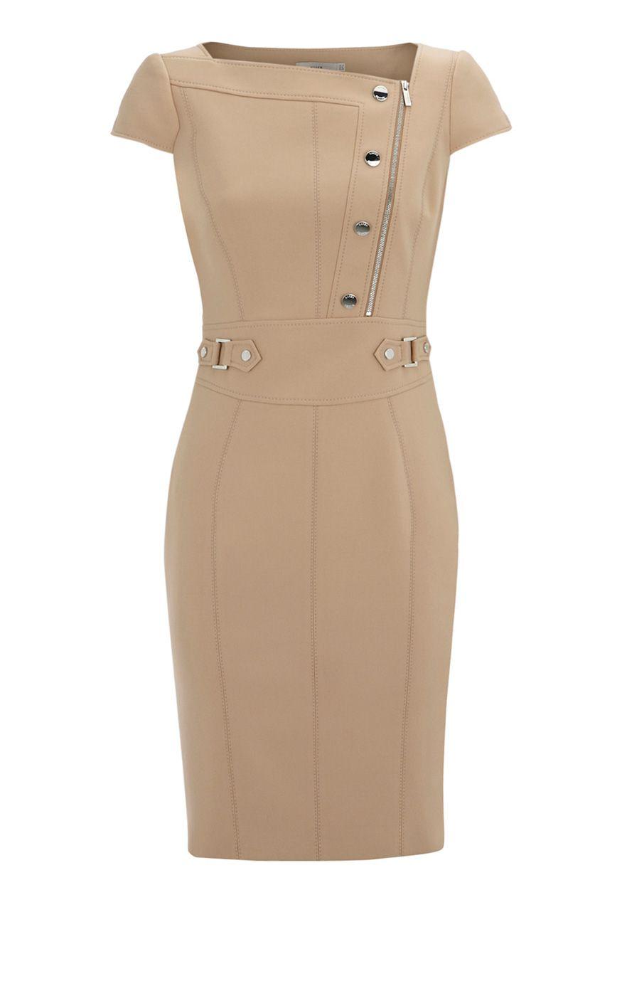 Karen Millen Solid Color Dresses Camel Outlet [karemillen 391] - £89.99 : Karen millen Dresses