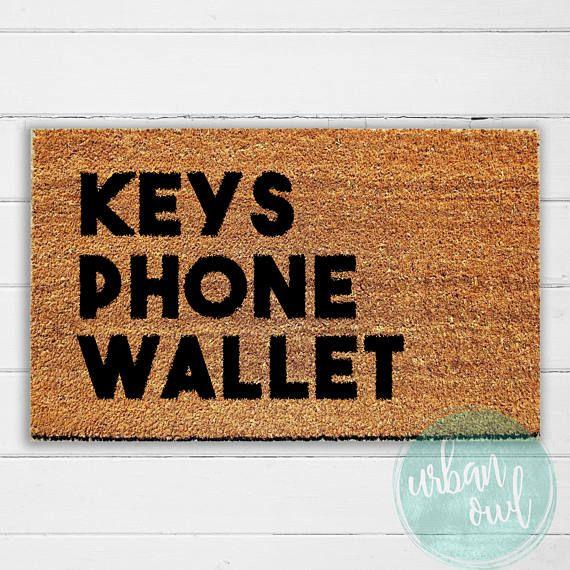 Superbe Keys Phone Wallet Doormat Welcome Mat Door Mat Outdoor