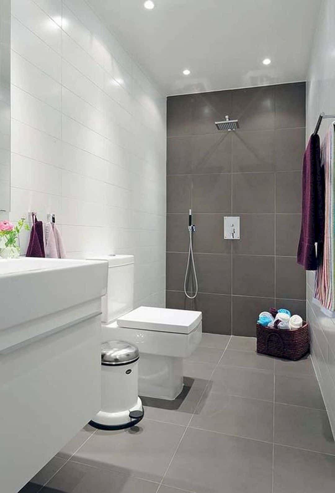 5 Modern Small Bathroom Trends for 2020 | Small bathroom ...