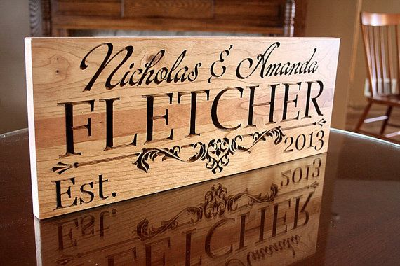 Custom Wood Signs For Home Decor