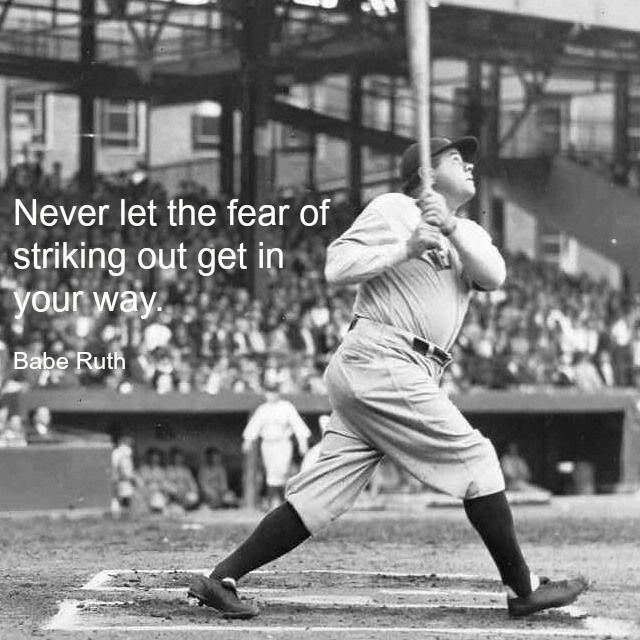 Quotes I Love Athletic Inspiration Babe ruth, New york