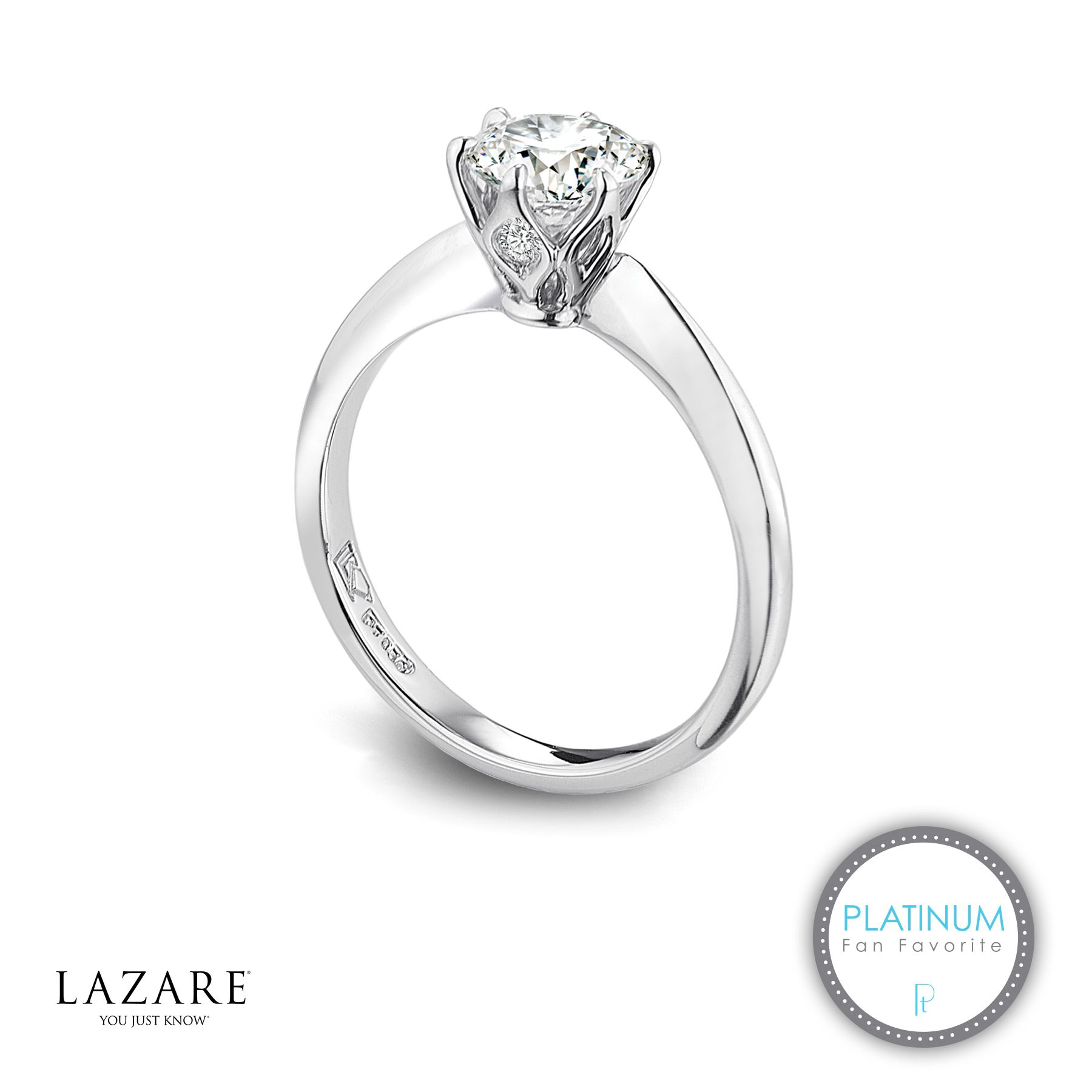 """Lazare Kaplan platinum """"""""Tiara Surprise"""""""" Lazare Diamond"""