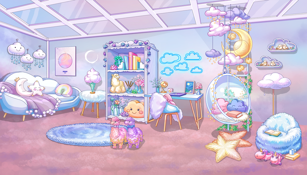 Party In My Dorm Anime Scenery Wallpaper Anime Background Cute Art