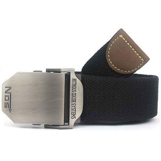 2016 Hot NOS Men Canvas Outdoor Belt Military Equipment Cinturon Western Strap Men's Belts Luxury For Men Tactical Brand Cintos