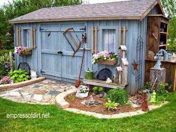 Cobertizos De Jardin Por Rita Feijo En Casinhas No Jardim Casetas De Jardin Ideas De Jardineria