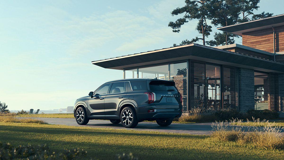 Hyundai palisade reveal on behance vehicule paysage
