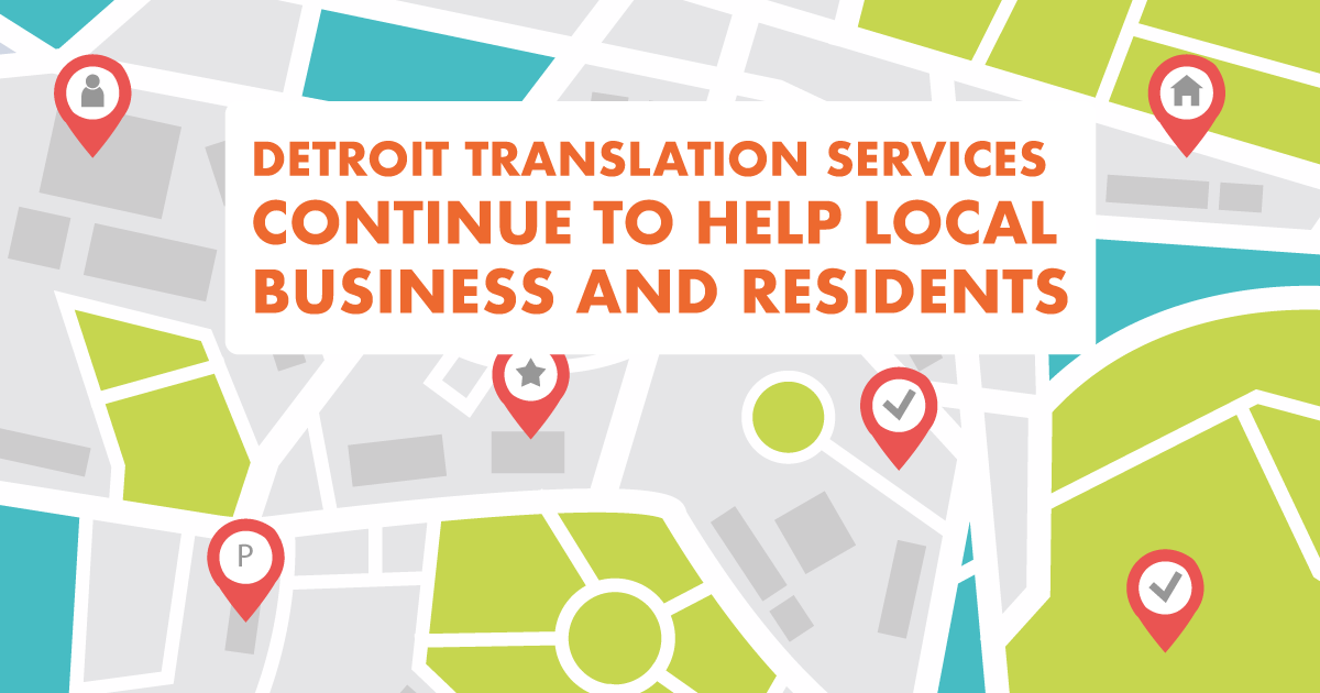 Detroit translation services continue to help local