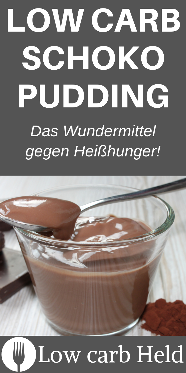 Photo of Low Carb Schokopudding – Low Carb Held