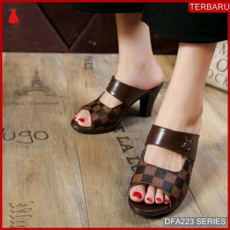 Dfa223l35 L38 Sandal Heels Bassamah Wanita 8348 Dewasa Bmgshop