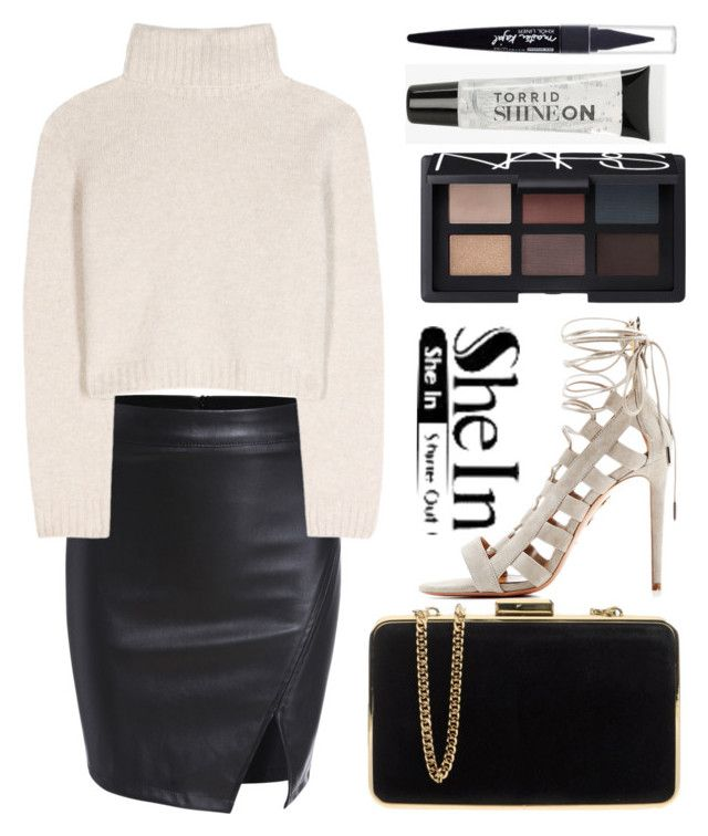 """..."" by shanelala ❤ liked on Polyvore featuring The Row, Aquazzura, MICHAEL Michael Kors, NARS Cosmetics, Torrid, Maybelline, women's clothing, women, female and woman"