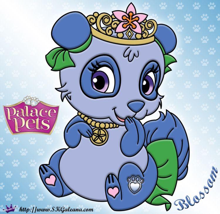 Free Princess Palace Pets Blossom Coloring Page Princess