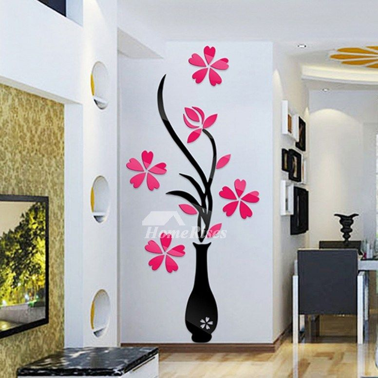 Understanding The Background Of 12d Flower Stickers Wall Decor