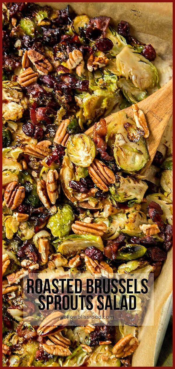Fried Brussels sprouts salad #buffalobrusselsprouts Fried Brussels sprouts salad, #Brussels #buffalocauliflower #Fried #roastedcauliflower #Salad #Sprouts #buffalobrusselsprouts