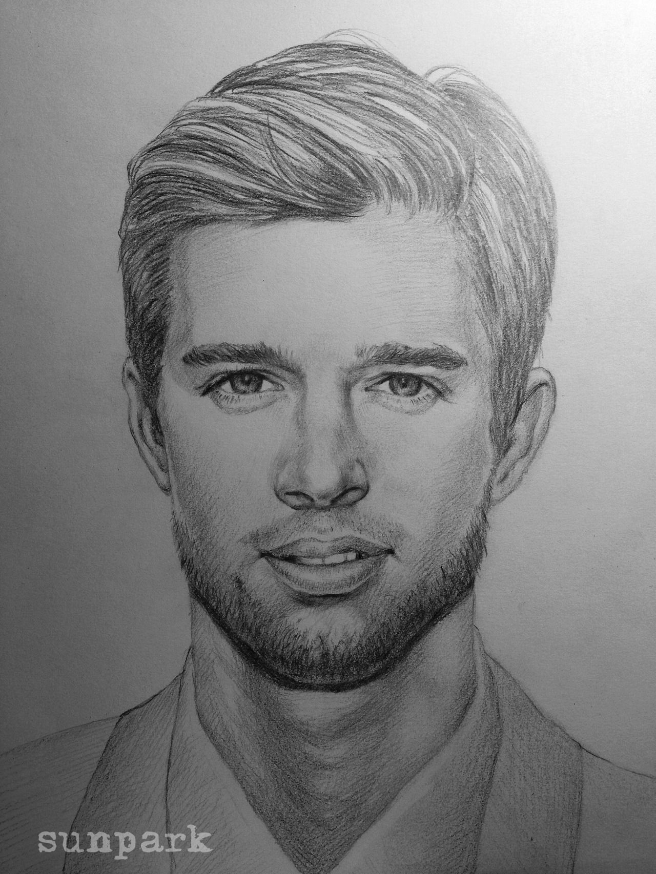 Jason DiLaurentis (Drew Van Acker) Sketch from our fan Sun Park ...