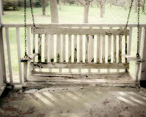 Country Porch Swing Photograph White Country Farm House Shabby Chic Old Cottage Quaint Family 30 00 Via E Porch Swing Country Porch Farmhouse Porch Swings