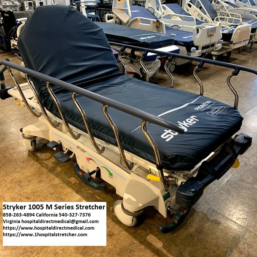 Stryker SM104 1005 MSeries Transport Stretcher Medical