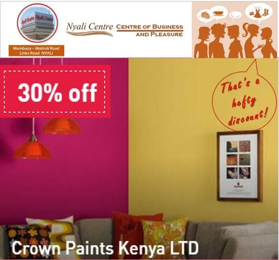 Thinking Of Redecorating Your Premises This Is A Colourful Deal From Crown Paints If You Like It Crown It Visit K Crown Paints Mombasa Kenya Redecorating