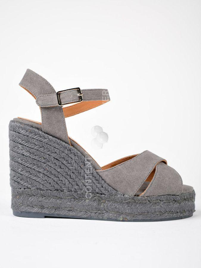 0f82b1c77d4 Castaner Winter Canvas | women shoes | Wedge sandals, Sandals ...