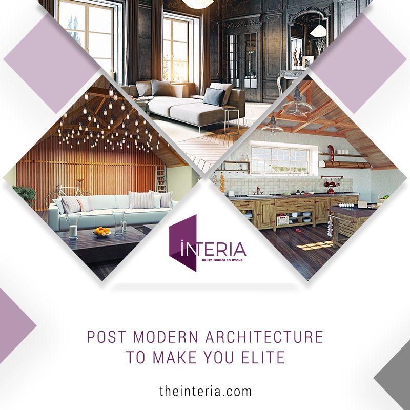 intelligent interior decoration with post modern architecture a rh pinterest com