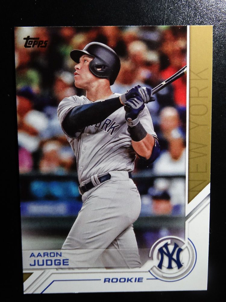 Details About 2017 Topps Salute Aaron Judge Rookie Baseball