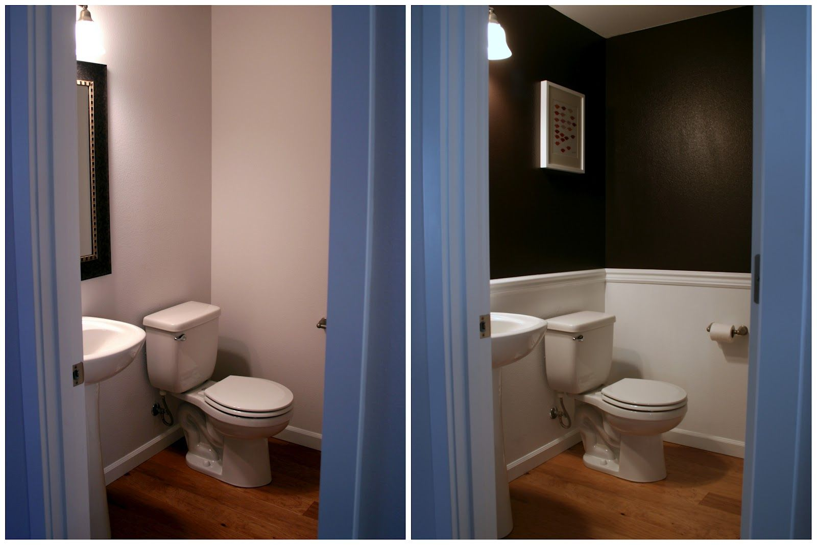 Small Half Bathroom Ideas | Adventures In Dressmaking: House Project  Update  Painting.