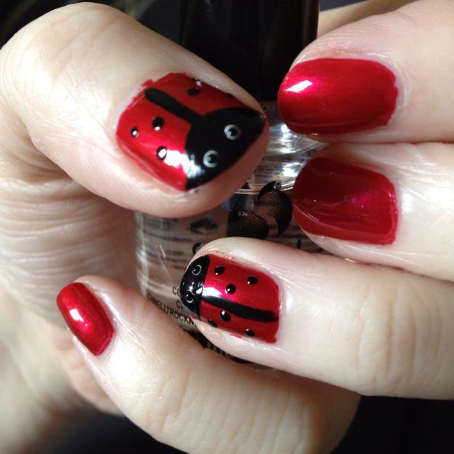 Ladybirds Base Chanel Matador Detail Models Own Nail Art Pen In