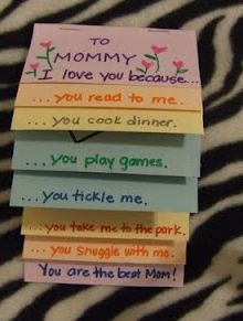 Cute mothers day card idea
