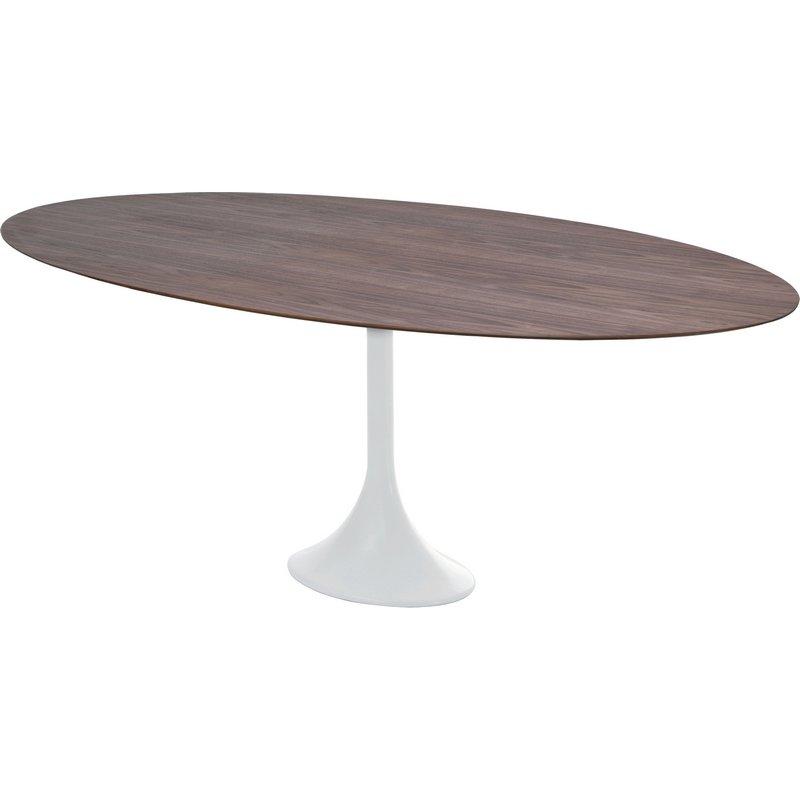 Nuevo Echo Oval 77 Dining Table American Walnut In 2020 Dining