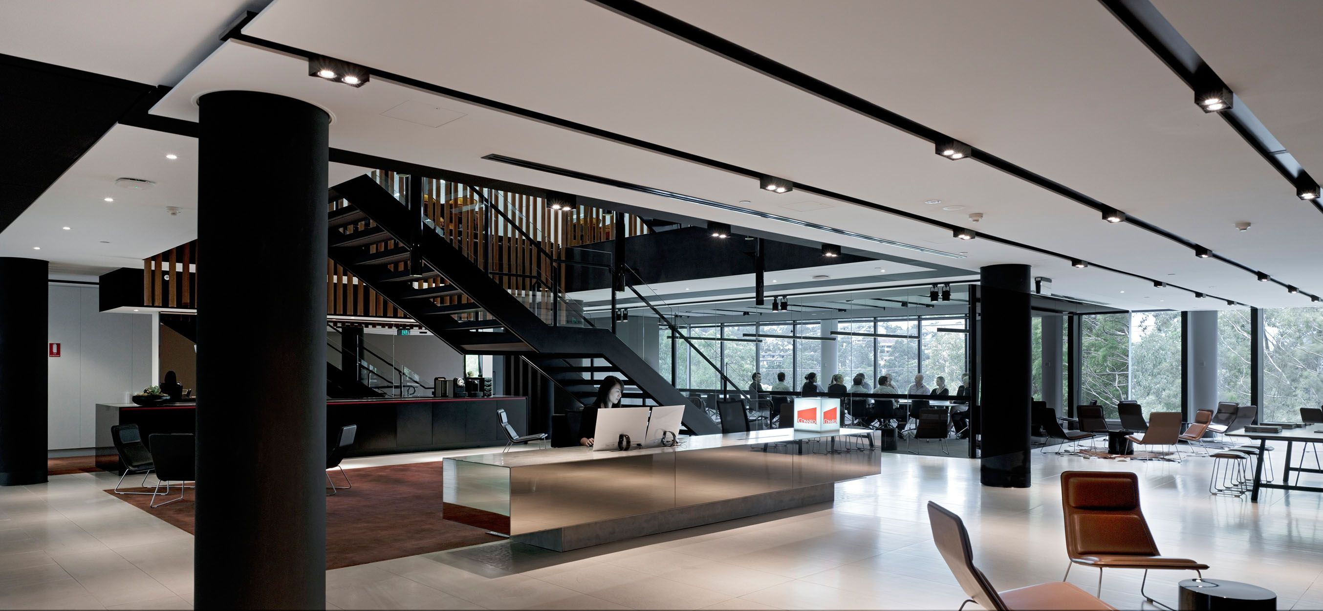 smart office interiors. Bates Smart Of Australia Lead The Design New Conneq Office Space. A Little From Their Description: Conneq\u0027s Offices Were Designed Around T Interiors M