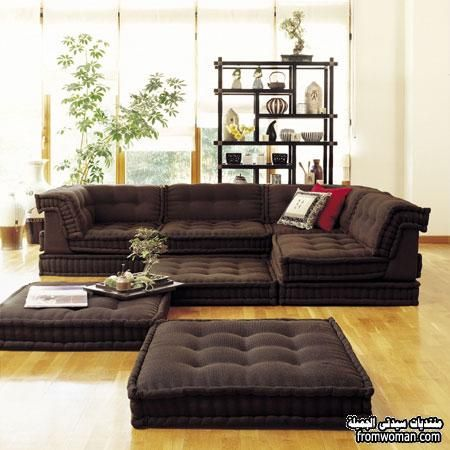 sectional sofa bed with ottoman google search sofa pinterest maison mobilier de salon. Black Bedroom Furniture Sets. Home Design Ideas